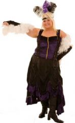 Purple Showgirl Costume Plus Size